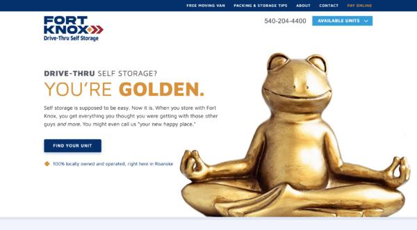 FtKnox Storage Homepage
